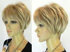 Vogue court blond Party cosplay mélangée, perruques + bouchon libre perruque