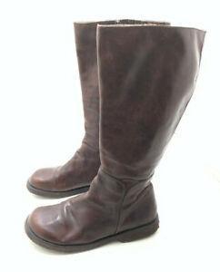 Angulus Damen Stiefel Stiefelette Boots Braun Gr. 41 (UK 7)