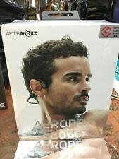 New listing Aftershokz Aeropex Wireless Bone Conduction Headphones Cosmic Black New in Box!