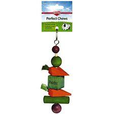 Chew Hanging Chewable Kabob Toys Pet Supply Wood Treat Rabbit Healthier Happier