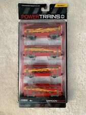 POWER TRAINS Jakks Pacific Series 1~ Dragon Bullet ~ 4 TRAIN CARS