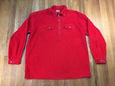 VTG Marlboro Unlimited Mens Half Zip Sweater Sz XXL Pullover Corduroy Jacket