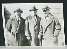 1925 Knute Rockne, Pop Warner, & Tad Jones, Football Legends, Type II  Photo