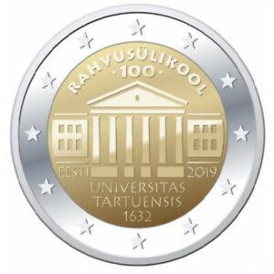2 Euro 2019 Estonia - Language University of Tartu UNC From Bank Roll