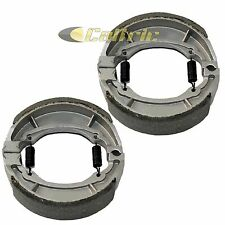 FRONT and REAR BRAKE SHOES Fits KAWASAKI DR100 1985 1986 1987 1988 1989 1990