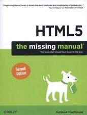 HTML5: The Missing Manual: By MacDonald, Matthew