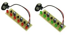 KitsUSA K-6825/K-6826 SUPER LED CHASER KITS - RED and GREEN