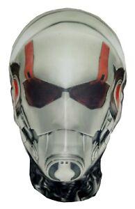 Ant-Man Style Mask -Halloween Costume -Fancy Dress - Marvel Parody - Scott Lang