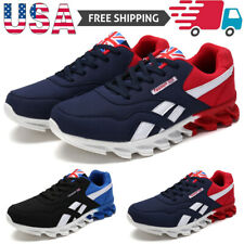 Men's Athletic Sneakers Fashion Running Shoes  Breathable Jogging Tennis Sports