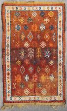 Rug carpet antique oriental tribal Berber Moroccan Morocco 1900
