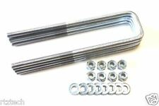 "TAHOE  K1500 1992-1999 REAR U BOLTS 11"" LONG 2.5"" LEAFS  4WD MADE IN THE USA"