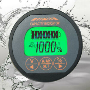 T16 Battery Monitor DC 80V 50A 100A 350A Capacity Tester Voltmeter Ammeter