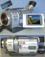 Sony dcr-trv340e PAL Digital 8/hi8, video 8 Handycam camcorder +1 anno garanzia.