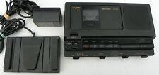 Sanyo TRC-8080 Cassette transcriber, Ac adapter , Pedal, Headset WARRANTY