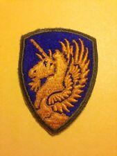 WW2 US Army 13th Airborne Unicorn Pegasus SSI Shoulder Sleeve Insignia Authentic