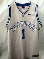 #1 KENTUCKY Authentic NIKE Sewn Basketball Jersey Size Large Plus 2