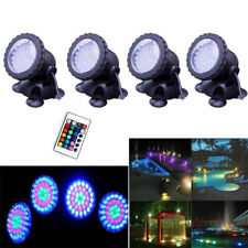 LED Underwater Submersible Pond Garden Spot Lights Tank Aquarium with Remote RGB