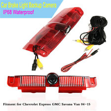 Car Brake Light IR Backup Rear View Camera For Chevrolet Express GMC Savana Van