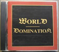 WORLD DOMINATION I - OSMOSE PRODUCTIONS SAMPLER 1995 - CD