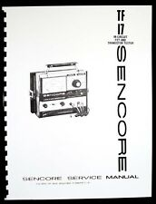 Sencore TF-17 TF17 In-Circuit FET and Transistor Tester Manual