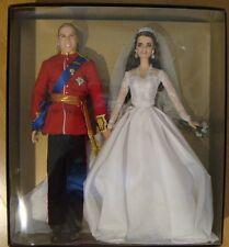 Barbie Doll William & Catherine Royal Wedding Giftset NRFB Free Ship U.S. XB120
