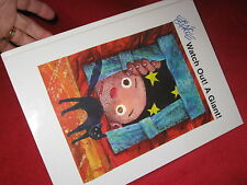 ERIC CARLE - WATCH OUT! A GIANT!    GoRgEoUs PEEPhole LIFT the FLAP  book