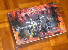 Megahouse Masked Kamen Rider Chess Piece Collection - 6pcs Set (White Stand)