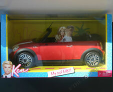 Barbie Ken My Cool Red Mini Cooper.Ages 6 Up And Collectors, Mattel #W3157 Nrfb
