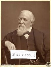 CAMBERWELL . SURREY . PHOTO.  ROBERT BROWNING . POETE ET DRAMATURGE BRITANIQUE