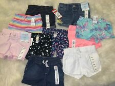Toddler Girl Clothing Lot. Bundle 12 Shorts Sizes From 12-18months