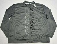 Ecko Function Track Jacket Men's Blasted Bold Logo Full-Zip Grey Streetwear Q621