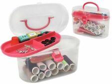Nähset Nähzubehör Nähkästchen 43 Teile Universale Kunststoffbox mit Schublade