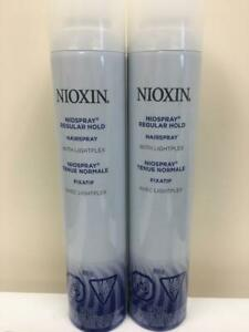NIOXIN NIOSPRAY WITH LIGHTPLEX REGULAR HOLD  10oz (2pack)