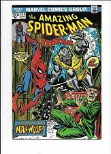 The Amazing Spider-Man #124 September 1973 1st appearance Man-Wolf !