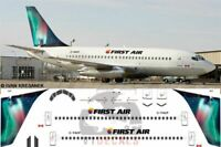 V1 Decals Boeing 737-200 First Air for 1/144 Airfix Model Airplane Kit V1D0003