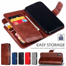 Fr iPhone 12 Pro Max 11 7 8 Plus SE 2020 Magnetic Flip Leather Case Wallet Cover