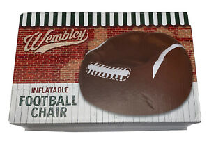 2016 Wembley Inflatable Football Chair New! For Man Cave Or Super Bowl!