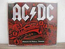 AC/DC rock n roll train cd single PROMOTIONEL 2008 très rare