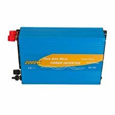 Power Inverter 2000W 24V Onda Pura MAX 4000W AC 230V Camper Fotovoltaico Auto