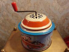 Vintage Tin Wind Up Music Box W. Germany by Lorenz Bolz Zirndorf
