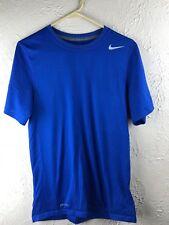 Nike Legend Dri Fit Short Sleeve Tee Blue SmallL Fast Free Shipping