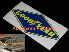 2x 6inch 15.2cm Goodyear decal sticker diamond tire racing Kart NHRA F1 vinyl d1