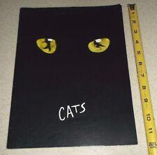 VINTAGE THEATER PROGRAM-CATS