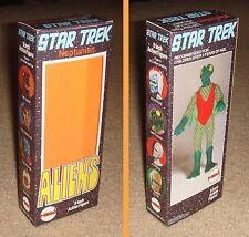 """MEGO 8"""" STAR TREK ALIEN NEPTUNIAN BOX ONLY"""