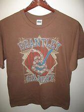 Brantley Gilbert USA Pays Occidental Rock & Roll 2012 Concert Tour T Shirt Grand