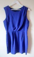 Topshop Cobalt Royal Blue Dress size 12