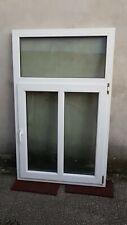 Nr.18, Kunststofffenster, Sprossen, re/li Drehkipp, 98 cm / 160 cm
