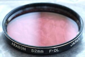 Aragon F-DL 52mm Fluorescent to Daylight Color Correction Filter Made in Japan