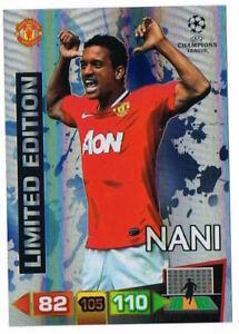 NANI - Limited Edition Panini Adrenalyn XL Champions League 2011-12 Trading Card