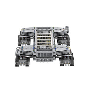 Building Blocks NASA CRAWLER TRANSPORTER for Shuttle Expedition Saturn-V Launch